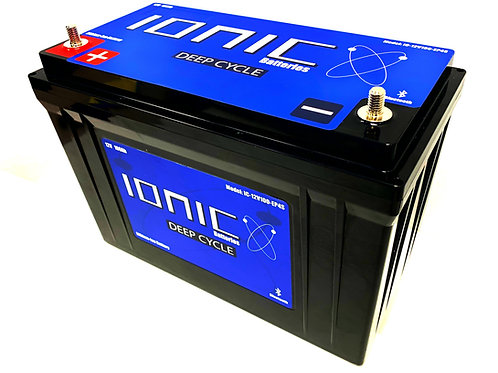 Ionic 12 Volt 100Ah Deep Cycle Lithium Battery