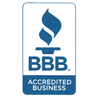 Now Accredited By The Better Business Bureau!