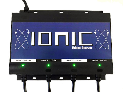 Ionic Four Bank Battery Charger