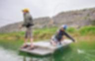 Rockfish Boats Fishing