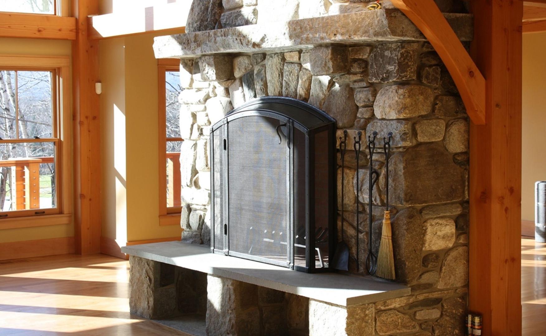 Built in Fireplace Doors - VT