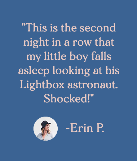 Customer testimonial by Erin P.