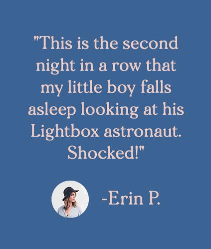 Customer testimonial by Erin P.