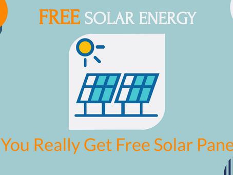 """Free solar energy"": Can you really get free solar panels?"
