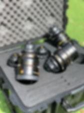 Kinefinity Terra 4K lenses, drone photography