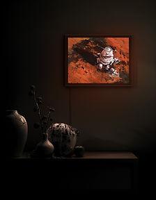 Ambition 1 Lander by Maciej Rebisz | Backlit Frame Art Print | BetterThanPlaster
