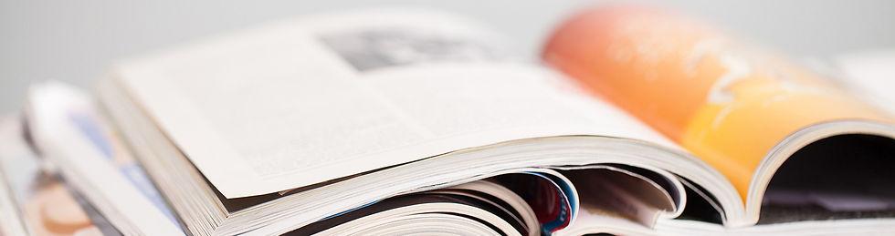 books and magazine
