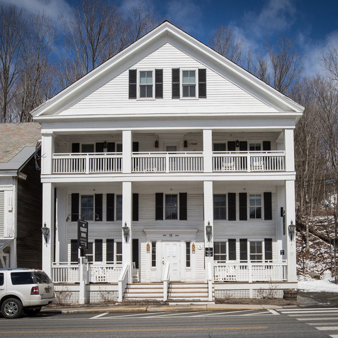 Vermont House Exterior Front