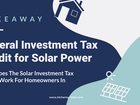 The Most Important Things To Know About The Solar Federal Investment Tax Credit (EXTENSION UPDATE)