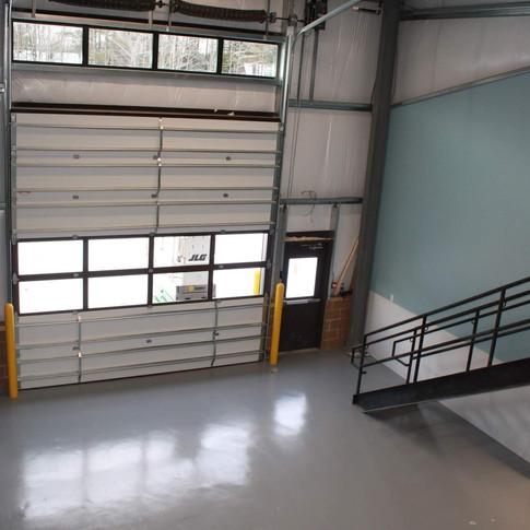 Eastman Maintenance Facility interior garage doors