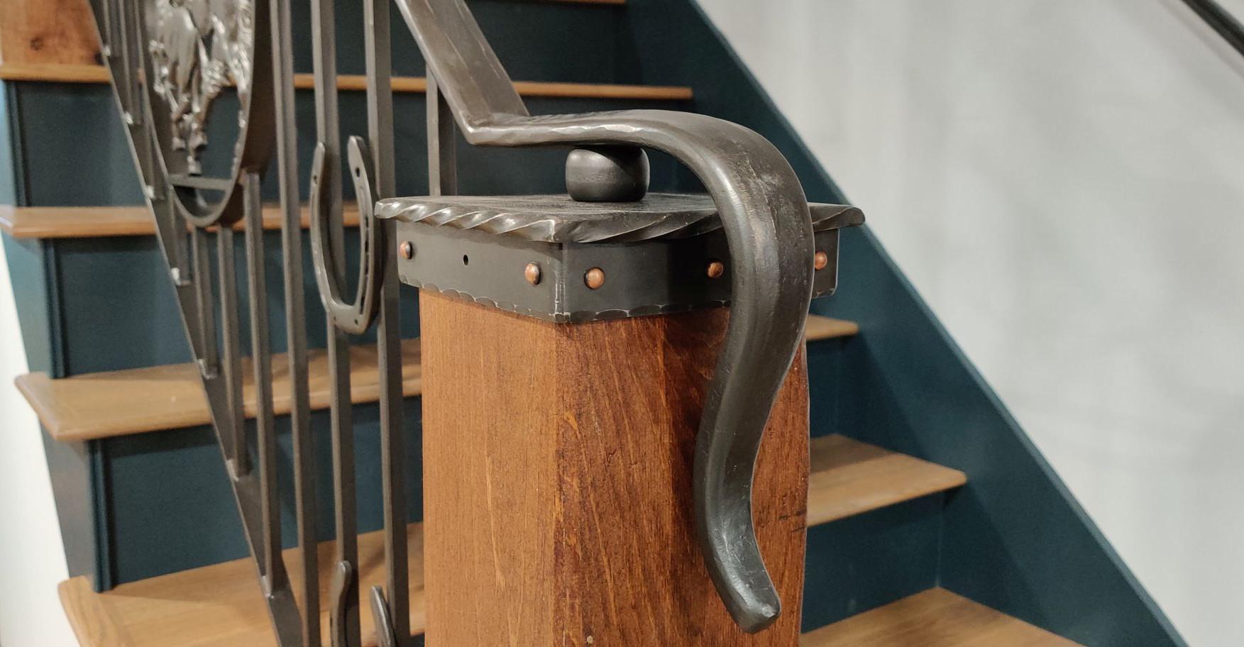 Custom Steel Railing