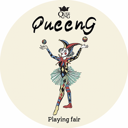 Decorate your items with a 👑Queeng sticker👑 Get 1 for $3 or 2 for $5!