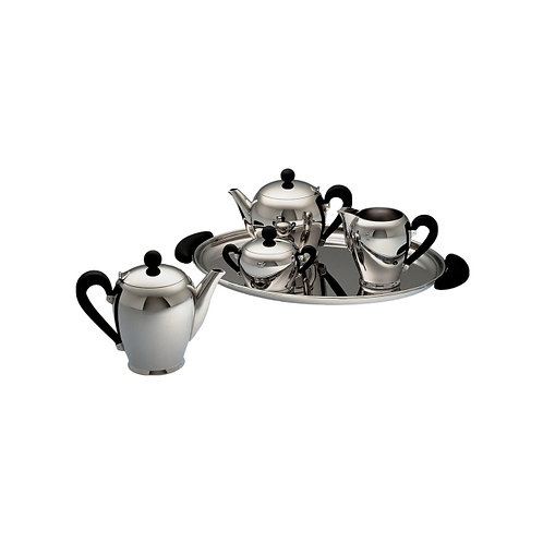 Alessi - Tea and Coffee Service BOMBE (Set of 5)