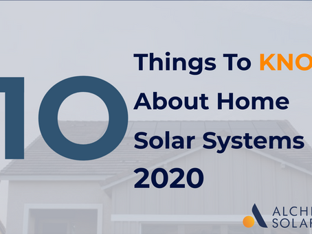 Residential solar panels: 10 things to know about home solar electricity systems in 2021
