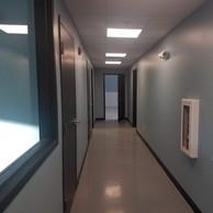 Eastman Maintenance Facility interior hallway