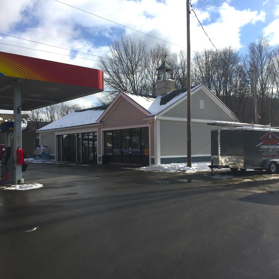 Sandri Sunoco Gas Station Exterior