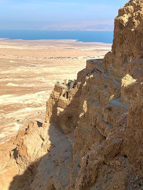 Hiking Masada in Israel