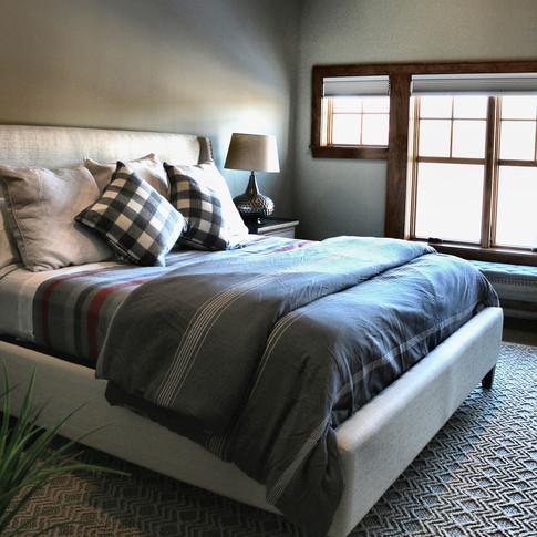 Long Residence Master bedroom