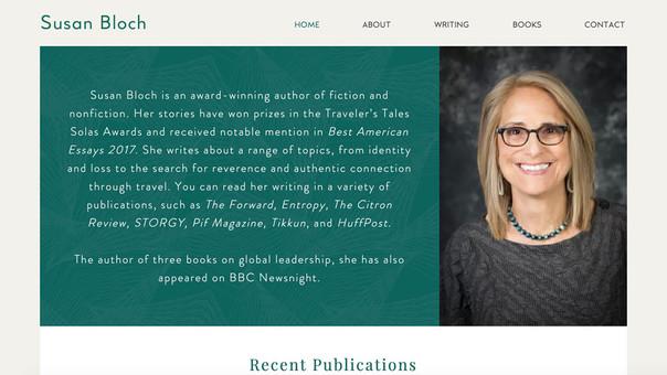 Susan Bloch Writer