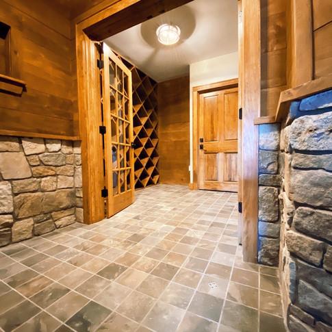 Long Residence wine cellar