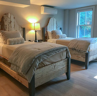 Vermont House Guestroom Two Beds