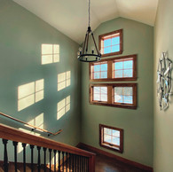 Long Residence Stairway