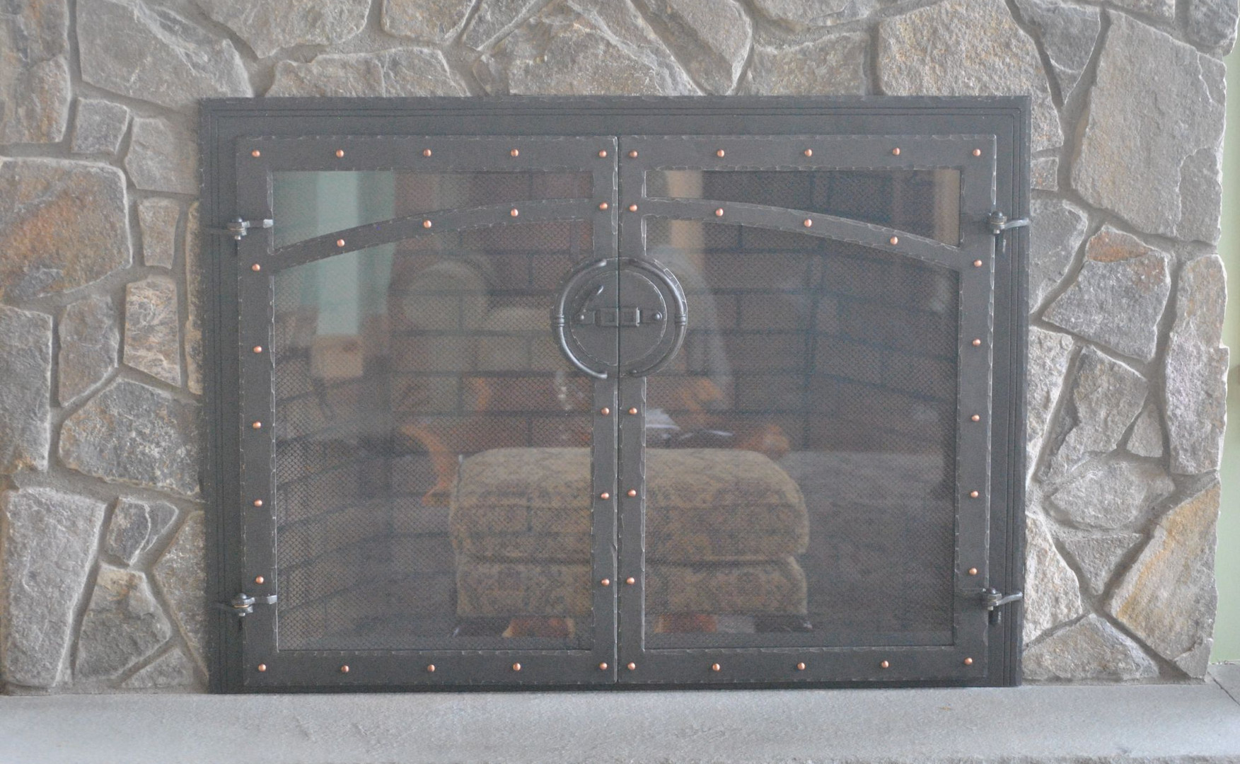 Fireplace Doors with Glass
