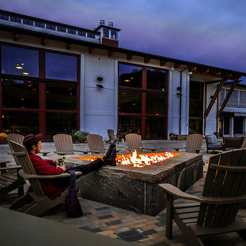 Carinthia Base Lodge Firepit