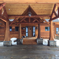 Corriveau Residence Front Entry