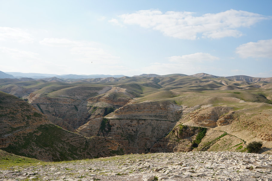 Hills in Israel