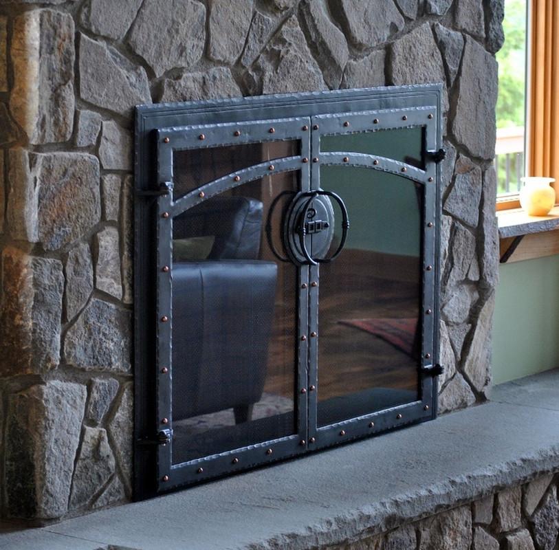 Handmade Fireplace Doors
