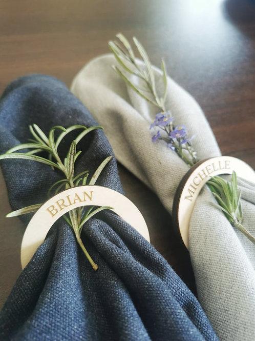 Custom Napkin Ring