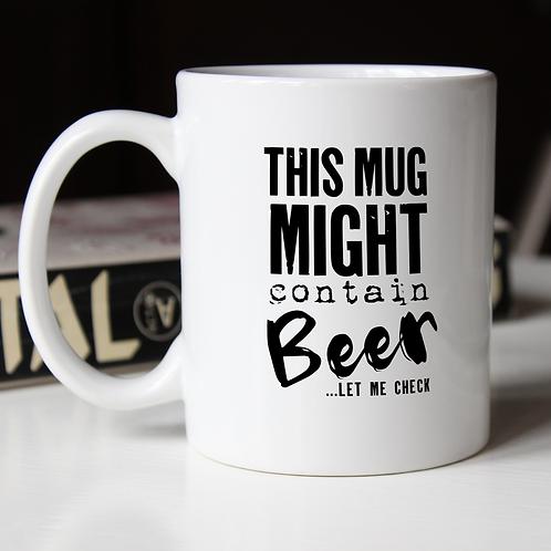 This mug might contain...