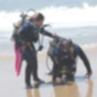 Resgate de mergulhador