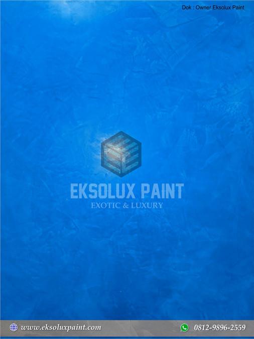 stucco venetian warna biru