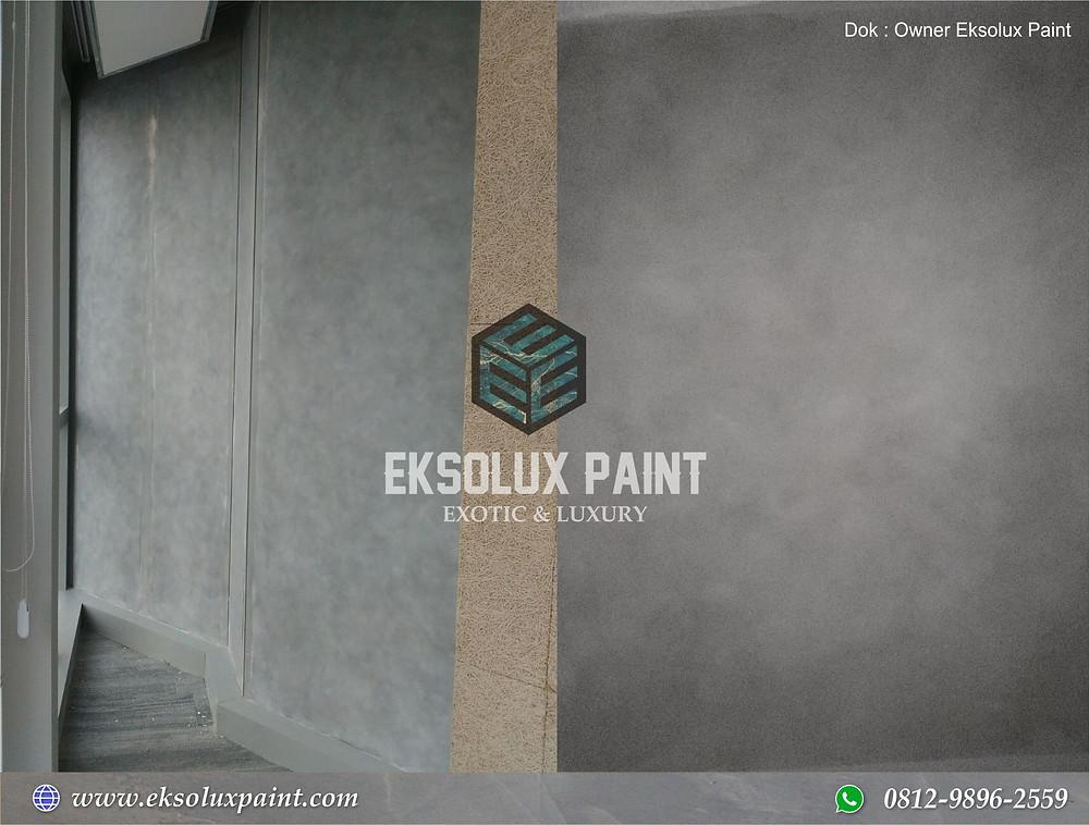 Fresco stucco ialah sentuhan finishing selesai lapisan cat yang di aplikasikan pada media  Plester Dinding Fresco Stucco