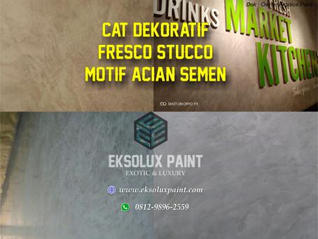 Jasa Cat Dekoratif Fresco Stucco Surabaya