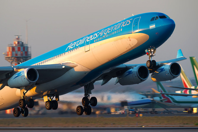 A340 Aerolineas Argentina