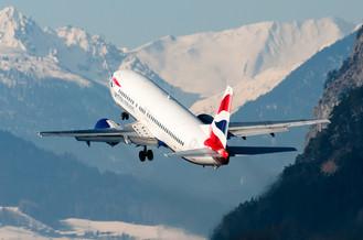 B737 British Airways Take Off INN