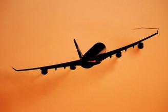 Aerolineas Argentina backlit