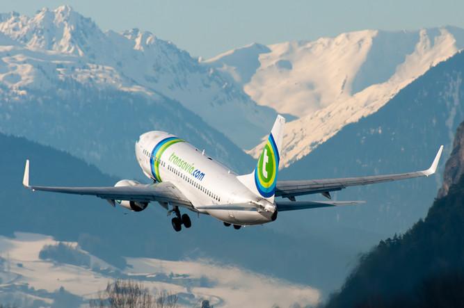 B737 Transavia Take Off INN