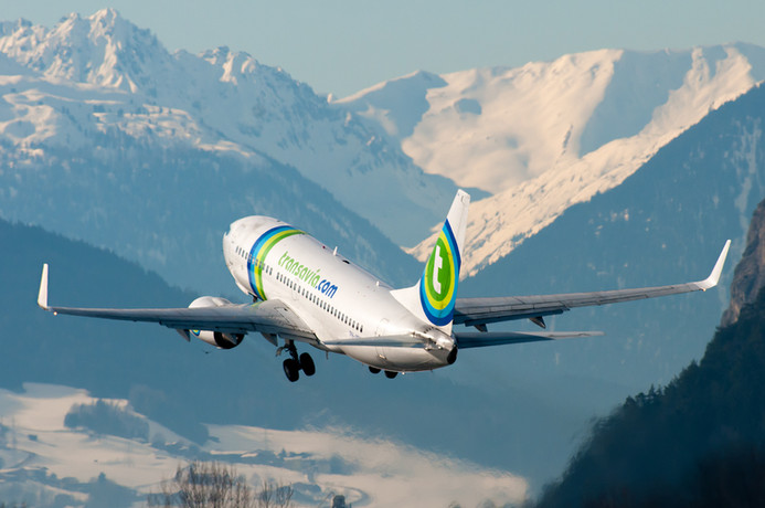 B737 Transavia Take Off INN