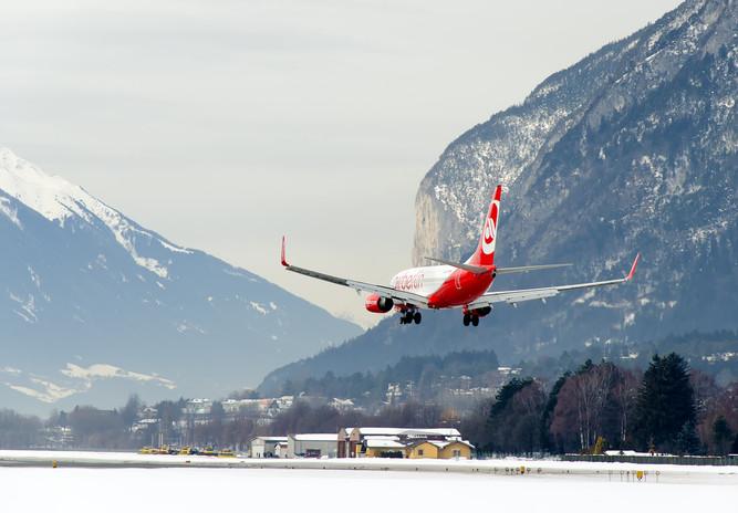 B737 Airberling Landing INN
