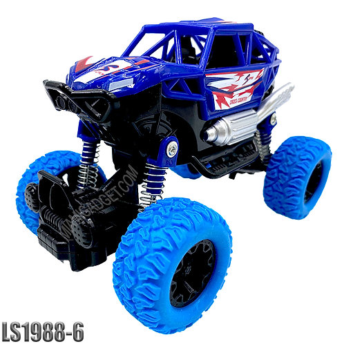 Monster Truck 4x4 Pull Back -Solid Colors LG