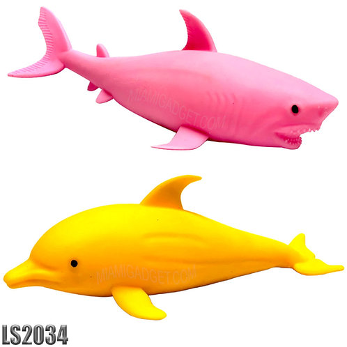 Sharks & Dolphins Squeeze Toy