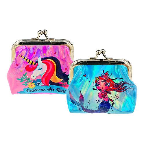 Unicorn & Mermaid Coin Purse