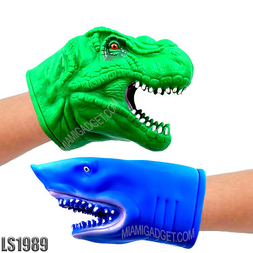 Animal Head Hand Puppet