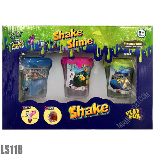 Do it Yourself Slime Shaker set of 3