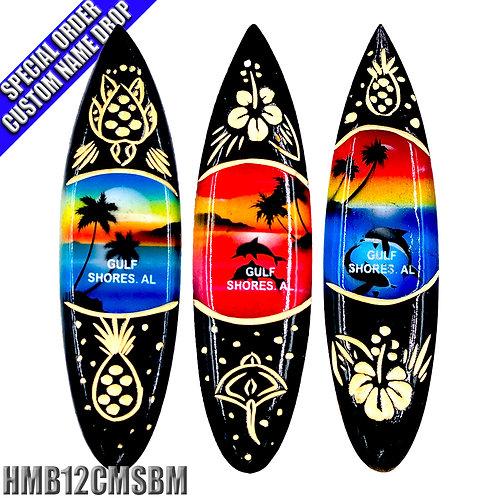 Surf Board Magnet - 12 cm