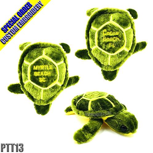 """Sea Turtle Plush 13"""" Medium"""